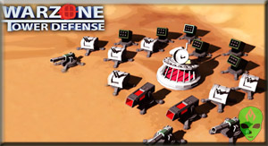 Game Warzone Tower Defense TD
